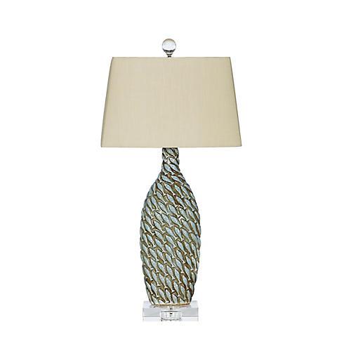 Mizuno Table Lamp, Blue