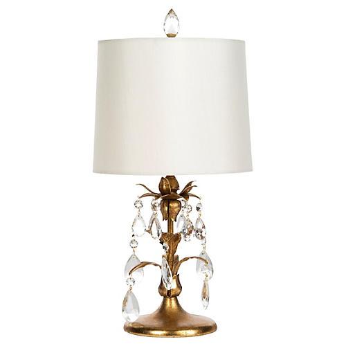 Tulipana Droplet Table Lamp, Gold
