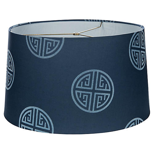 Barclay Drum Lampshade, Royal Blue