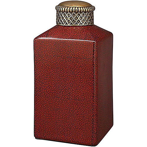 """7"""" Heqet Jar, Red/Gold"""