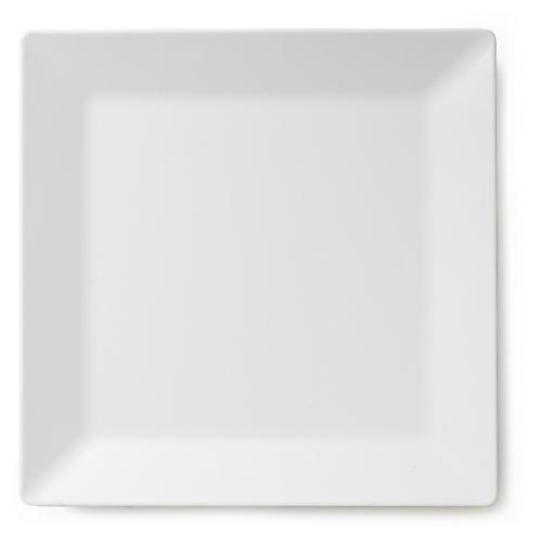 Melamine Square Serving Platter, White