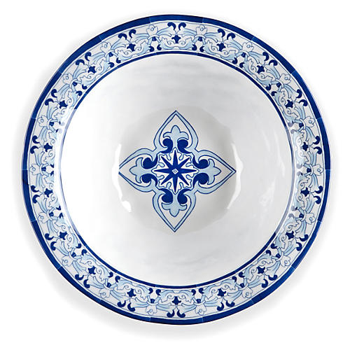 Melamine Talavera Serving Bowl