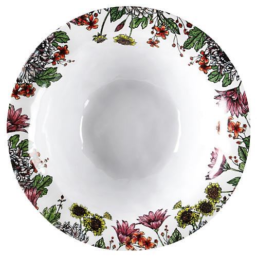Knoll Gardens Melamine Serving Bowl