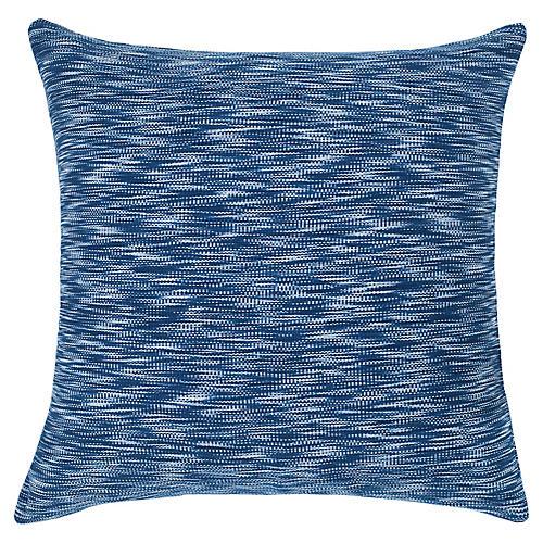 Jaspé Basura 20x20 Pillow, Indigo