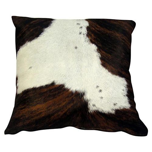 Cloud Pillow, Brown/White