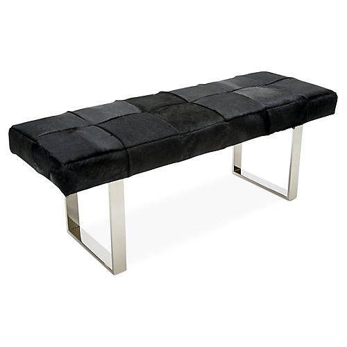 Skinny Dena Bench, Black