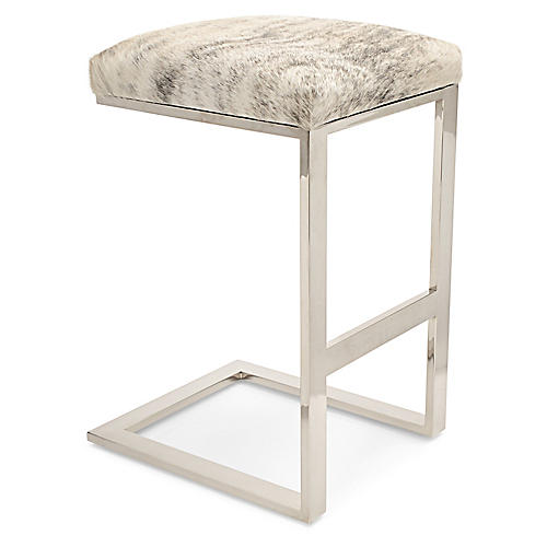 Hot Toddy Barstool, Beige/Gray