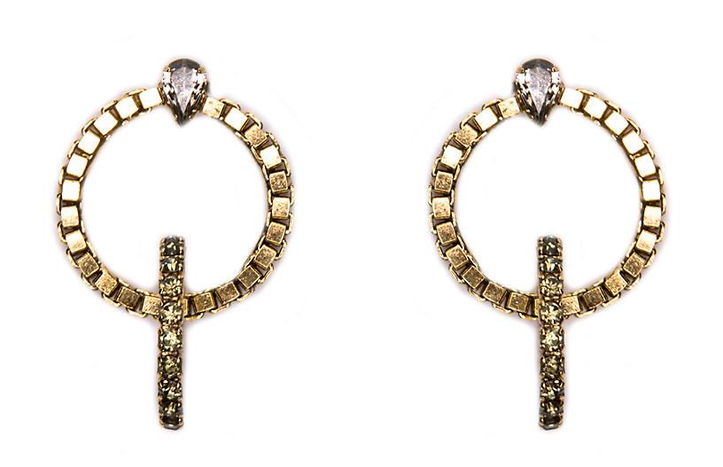 Gold Trento Earrings