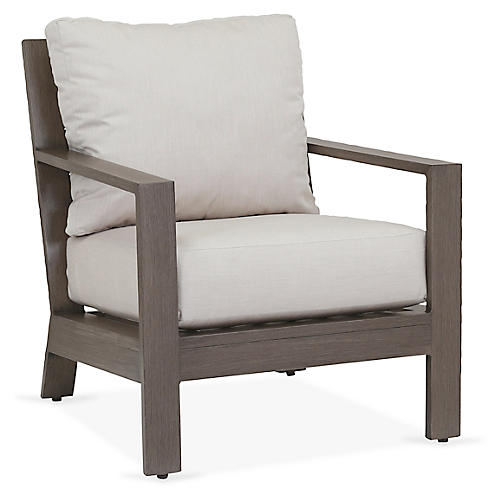 Laguna Club Chair, Canvas Sunbrella