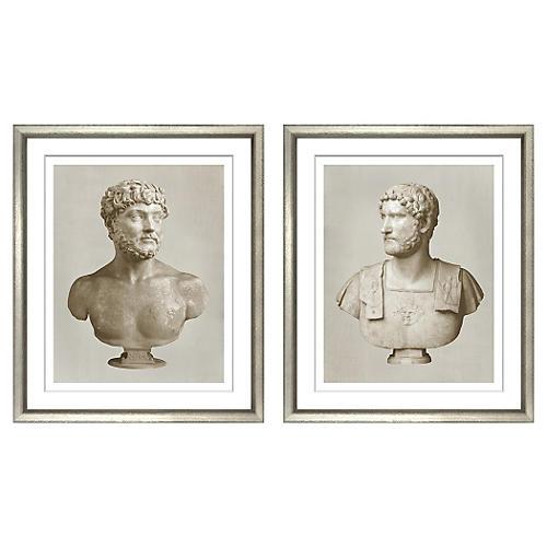 Roman Emperors Diptych