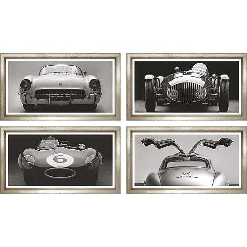 William Stafford, Vintage Cars (4-Pc)