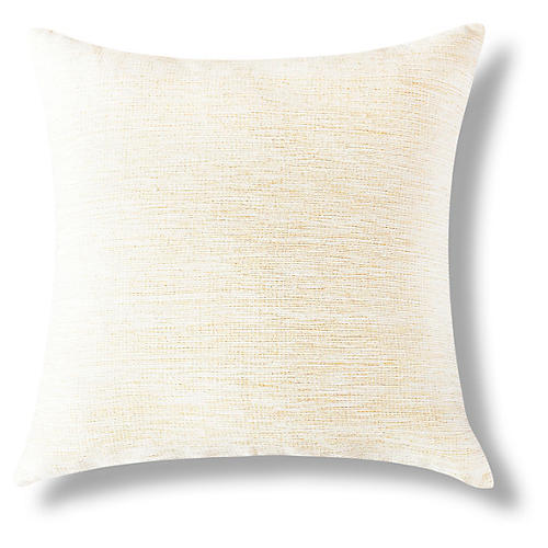Nigist 18x18 Pillow, Gold