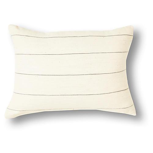 Selam 12x16 Pillow, Gray