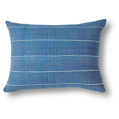 Melkam 12x16 Pillow, Azure