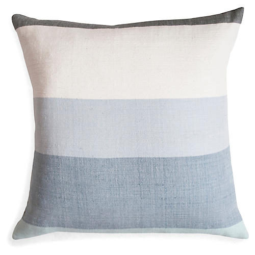 Afar 18x18 Pillow, Mist
