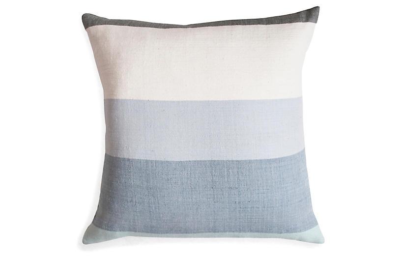 Afar 18x18 Pillow, Mist