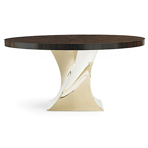 Elina Dining Table, Eucalyptus