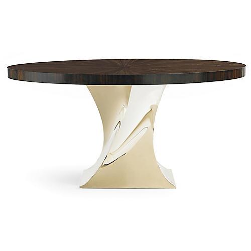 Elina Dining Table, Eucalyptus
