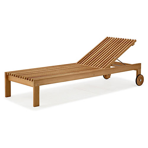 Amaze Lounge Chair, Natural