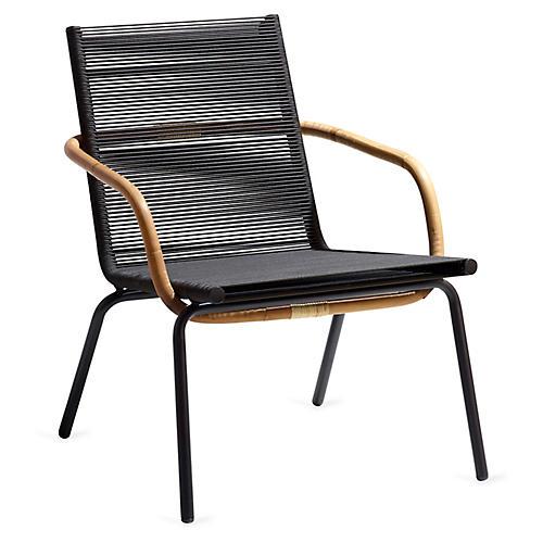 Sidd Club Chair, Brown