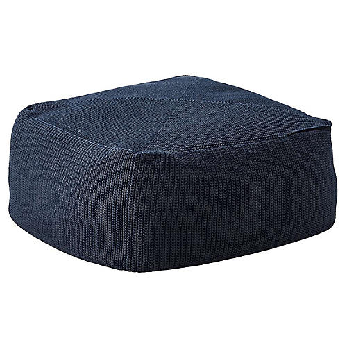 Divine Pouf, Dark Blue