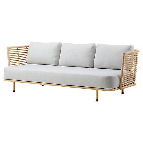 Sense Sofa, Off-White Sunbrella