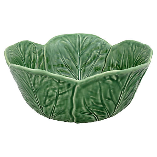 Cabbage Salad Bowl, Green