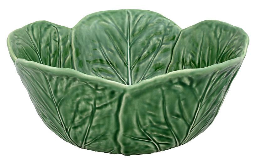 Cabbage Salad Bowl, Green