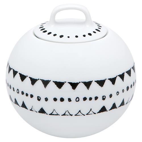 Nero Sugar Bowl