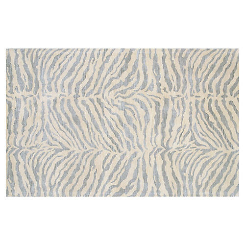 Wilderness Rug, Silver Blue