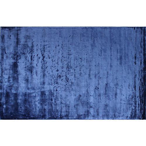 Athene Rug, Cobalt