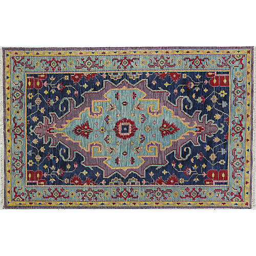 Emma Hand-Knotted Rug, Lilac