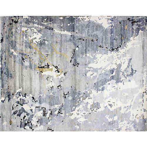 Blader Rug, Ivory/Gray