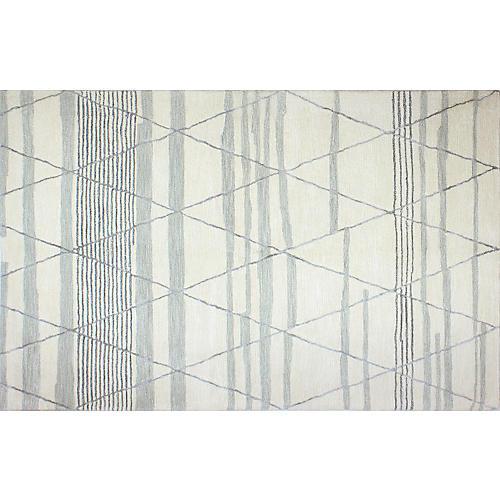 Orway Rug, Ivory/Gray