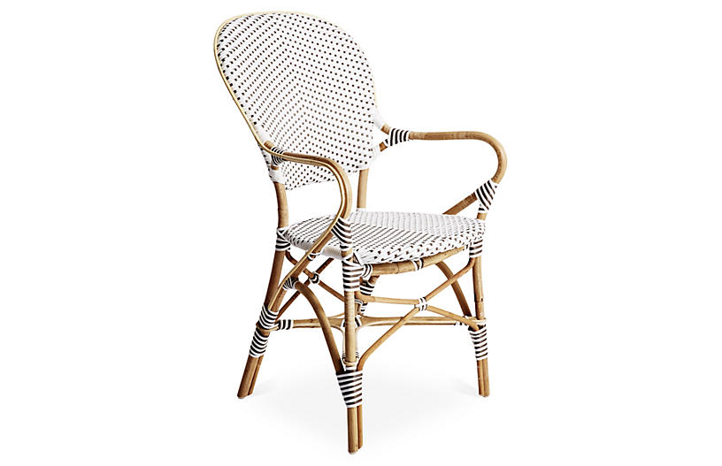 Isabell Rattan Armchair, Natural