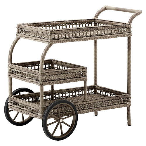 James Trolley, Antiqued Brown