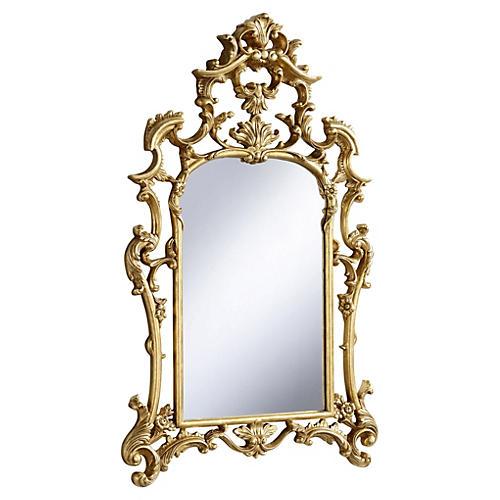 Crown Mirror, Gold