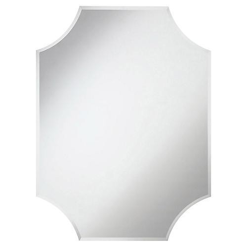 Varan Wall Mirror, Mirrored