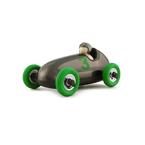 Bruno Roadster Toy, Gunmetal Gray/Green