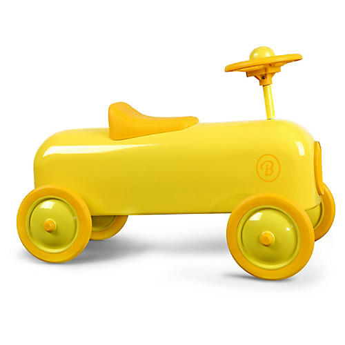 Racer Toy Car, Yellow