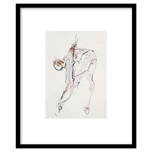 Bella Pieroni, Dancer Stretching I