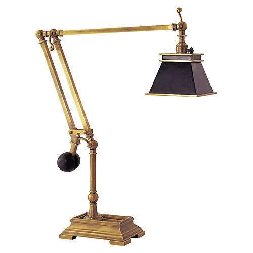 Chart House Engraver's Desk Lamp