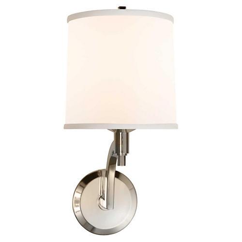 Westport 1-Light Sconce, Silver