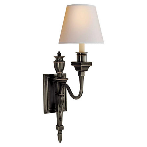 Winslow 1-Light Sconce, Bronze