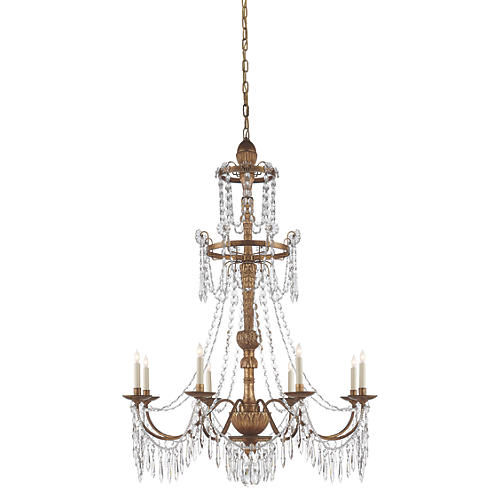 Princess Mari Ann 8-Light Chandelier