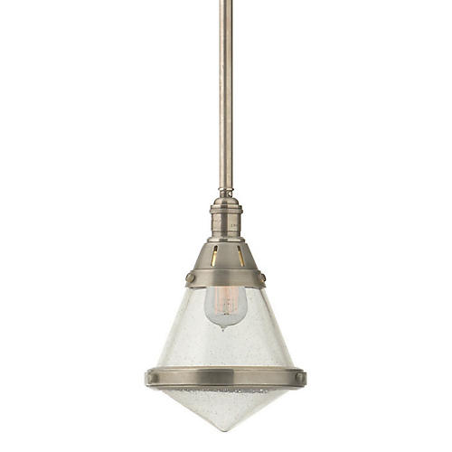 Gale Petite Hanging Light, Nickel