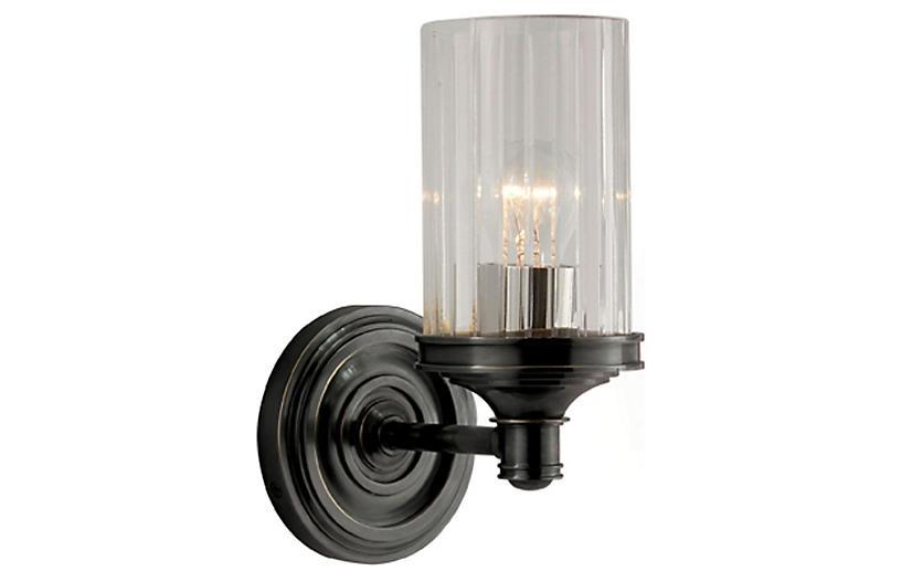 Ava 1-Light Sconce, Bronze