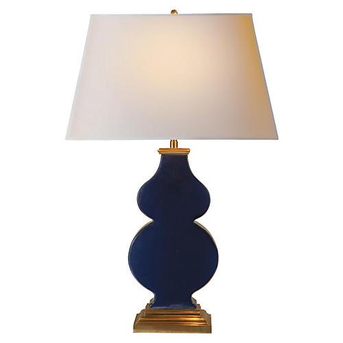 Anita Table Lamp, Midnight Blue
