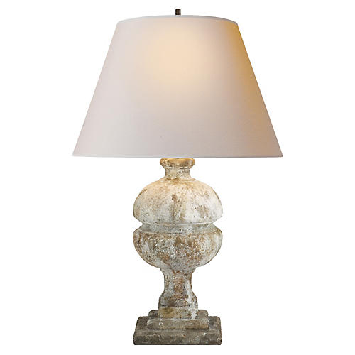 Desmond Table Lamp, Garden Stone