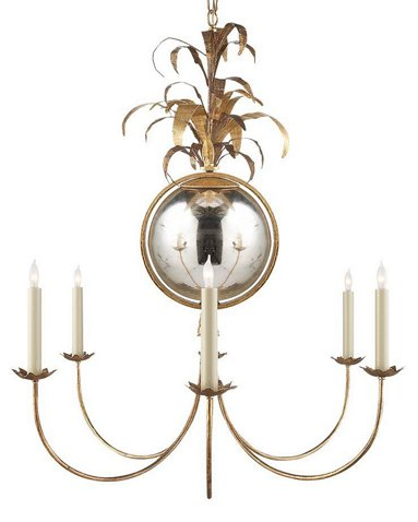 Gramercy Medium Chandelier Gilded Iron Visual Comfort Co Brands One Kings Lane